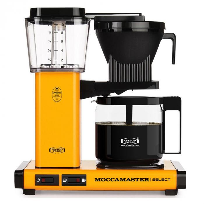 Cafetiera Moccamaster KBG Select - Galben [0]