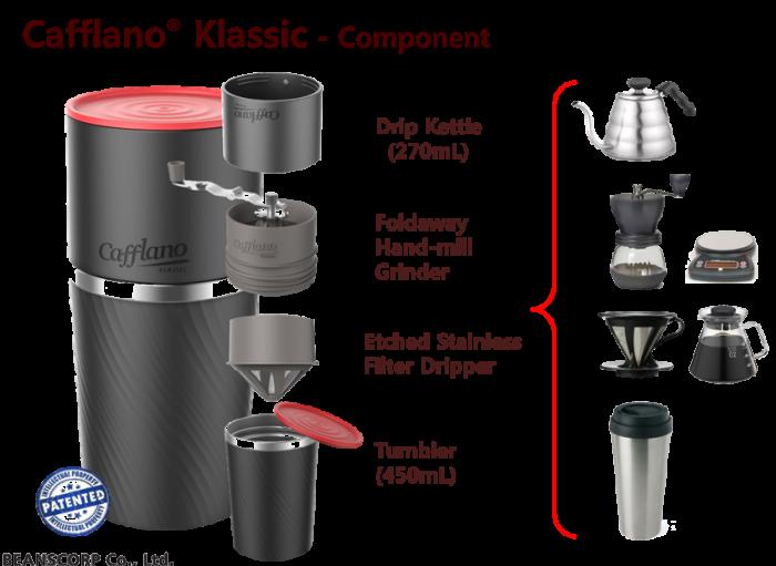 instrument alternativ de preparea a cafelei cafflano-klassic 9