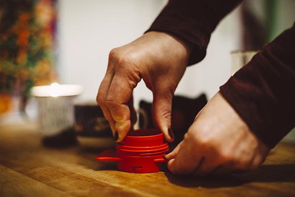 instrument alternativ pentru prepararea cafelei cafflano-kompresso 4