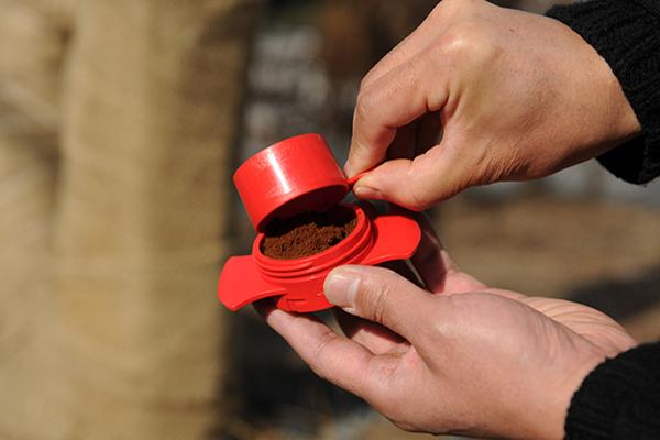 instrument alternativ pentru prepararea cafelei cafflano-kompresso 3
