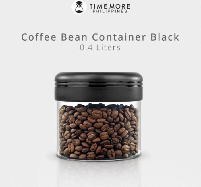 Recipient cafea din sticla 400ml NEGRU Timemore [4]