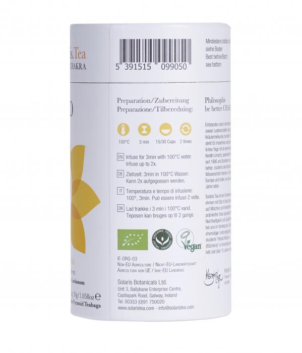 Ceai Organic I Do - Solar Plexus Chakra - 15 plicuri piramidale [5]