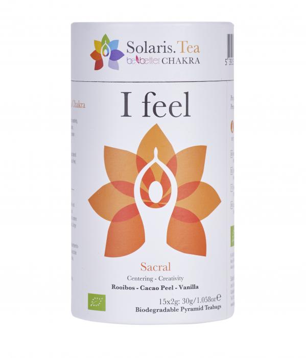 Ceai Organic I Feel - Sacral Chakra 4