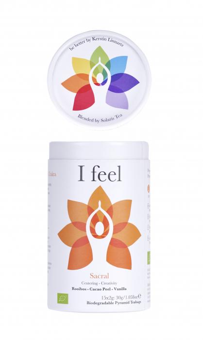 Ceai Organic I Feel - Sacral Chakra 8