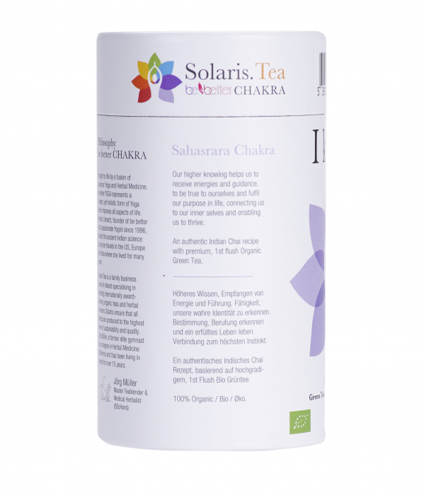 Ceai Organic I Know - Crown Chakra 6