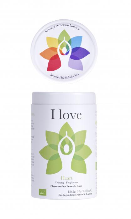 Ceai Organic I Love - Hearth Chakra 7