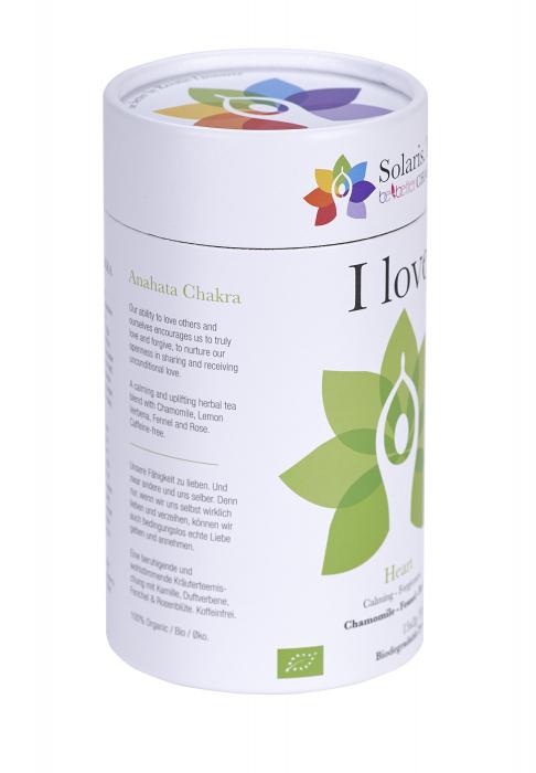 Ceai Organic I Love - Hearth Chakra 6