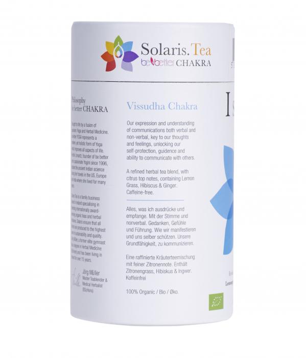 Ceai Organic I Speak - Throat Chakra - 15 plicuri piramidale [6]