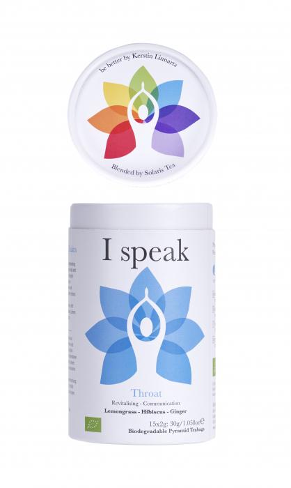Ceai Organic I Speak - Throat Chakra - 15 plicuri piramidale [7]