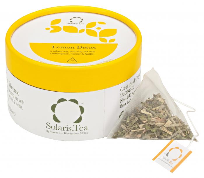 Ceai Organic Lamaie Detox 15 plicuri piramidale [0]