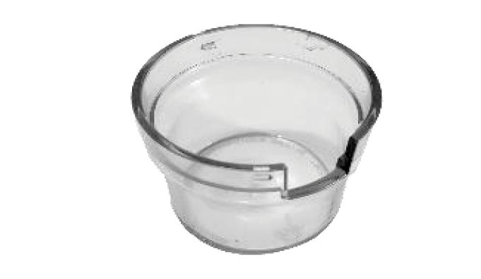 Ceasca transparenta pentru Cafflano Kompresso 0