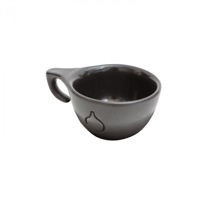 Ceasca Cappuccino Dropshot Negru Mat [1]
