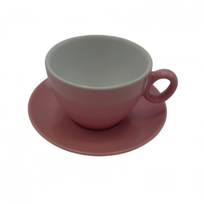 Ceasca Latte din portelan Inker 350ml - Roz [1]