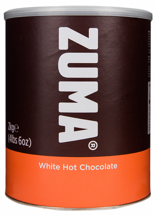 Ciocolata calda alba 2kg Zuma 0