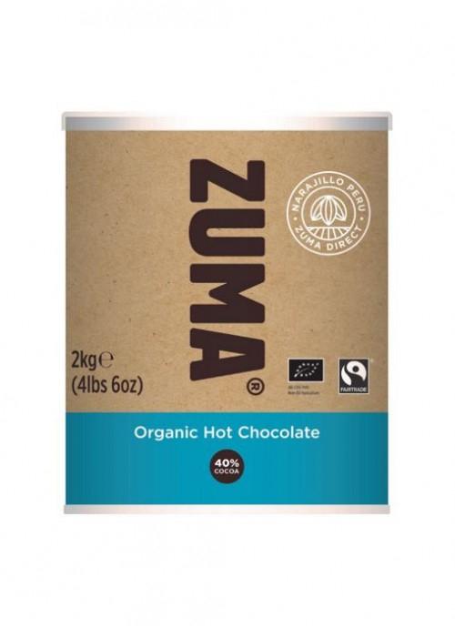 Ciocolata Calda Organica 2kg Zuma 40% cacao 0