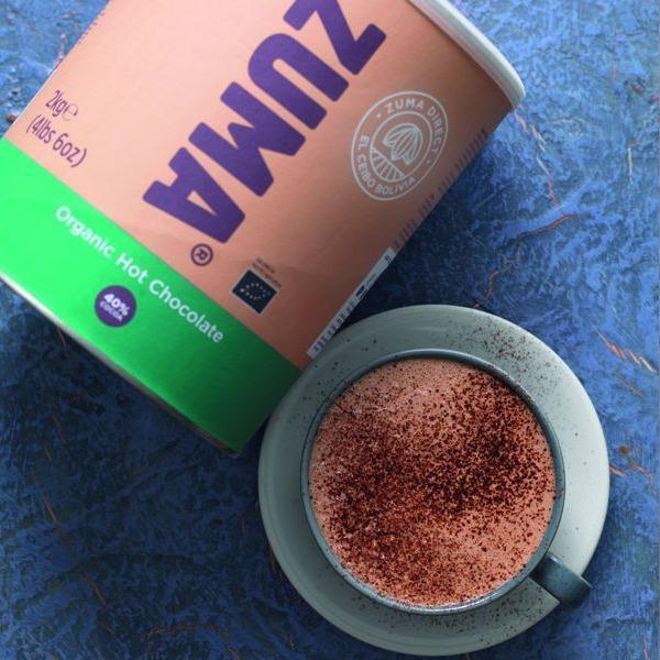 Ciocolata Calda Organica 2kg Zuma 40% cacao [2]