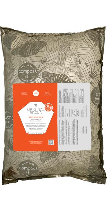 Ciocolata pentru Gatit Vegana Organica Couverture Beni Wild 66% - Origine Beni Amazon, Bolivia 0