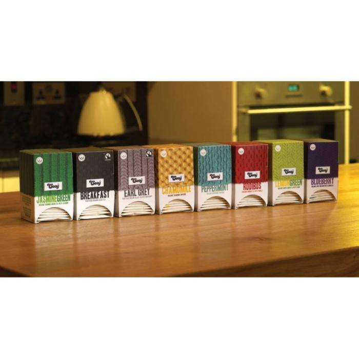 Cosy Ceai Organic Verde cu Iasomie - 20 plicuri [4]