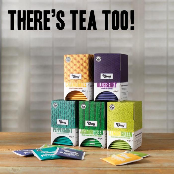 Cosy Ceai Organic Verde cu Iasomie 1