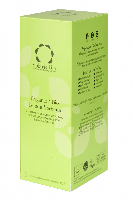 Ceai Organic Lamaie Verbena 40 plicuri [0]