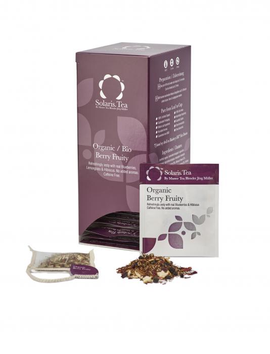 Ceai Organic Fructe de Padure 40 plicuri 2