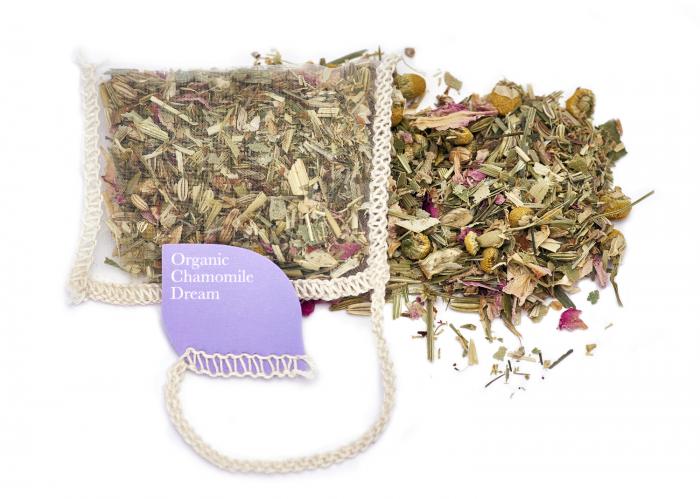 Ceai Organic Musetel 40 plicuri 4