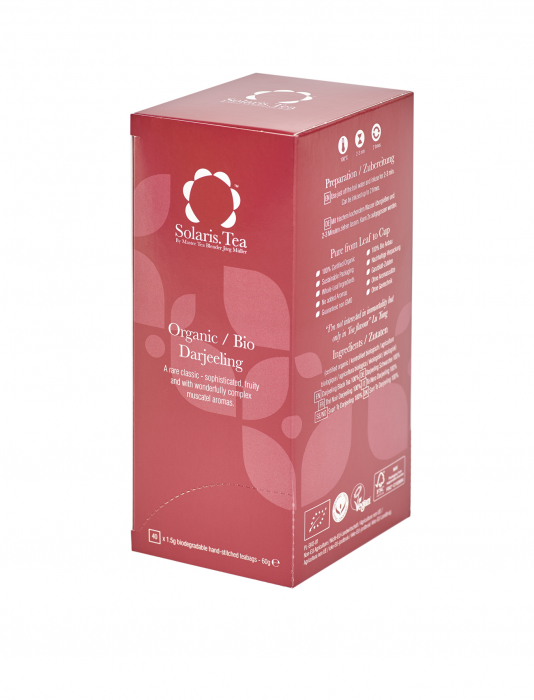 Ceai Organic Darjeeling 40 plicuri 0