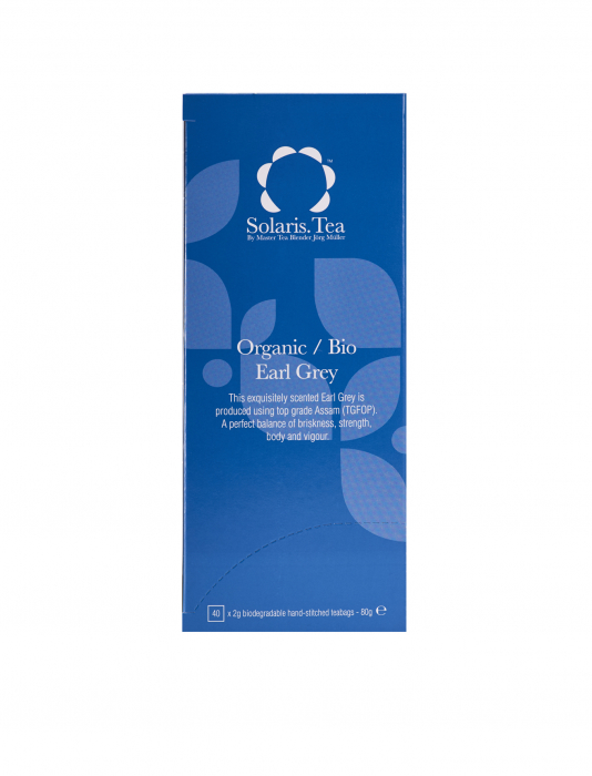 Ceai Organic negru Earl Grey 40 plicuri 1