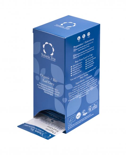 Ceai Organic negru Earl Grey 40 plicuri 3