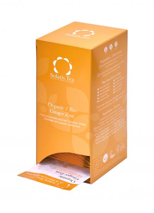Ceai Organic Ghimbir 40 plicuri [2]