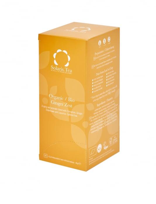 Ceai Organic Ghimbir 40 plicuri 0