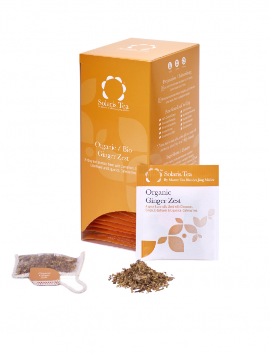 Ceai Organic Ghimbir 40 plicuri 1