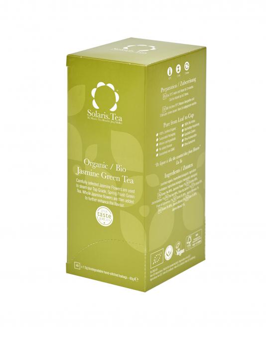 Ceai Organic Verde Iasomie 40 plicuri 0