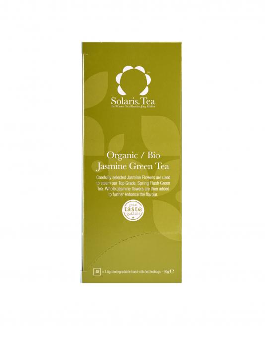 Ceai Organic Verde Iasomie 40 plicuri 1