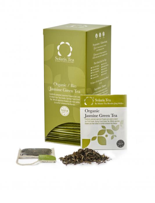 Ceai Organic Verde Iasomie 40 plicuri 2