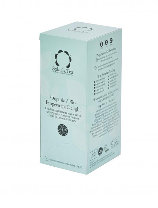 Ceai Organic Menta 40 plicuri 0
