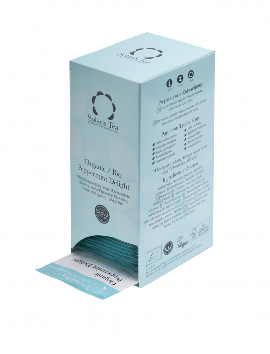 Ceai Organic Menta 40 plicuri 3