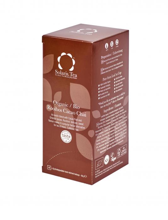 Ceai Organic Rooibos Cacao Chai 40 plicuri 0