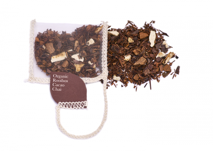 Ceai Organic Rooibos Cacao Chai 40 plicuri 4