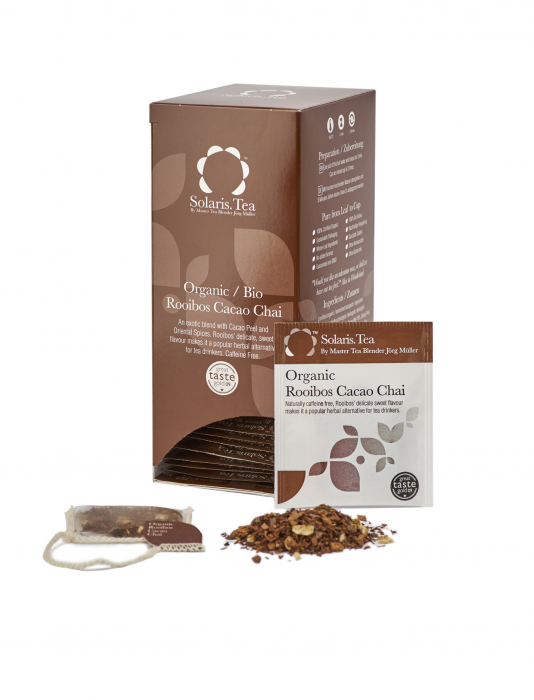 Ceai Organic Rooibos Cacao Chai 40 plicuri 2