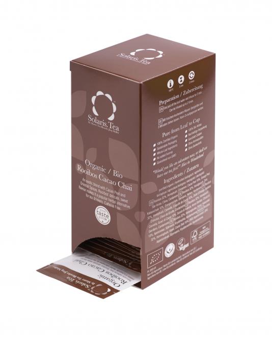 Ceai Organic Rooibos Cacao Chai 40 plicuri 3