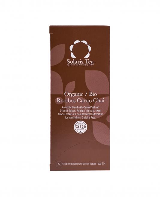 Ceai Organic Rooibos Cacao Chai 40 plicuri 1