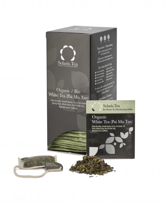Ceai Organic Alb 40 plicuri 2