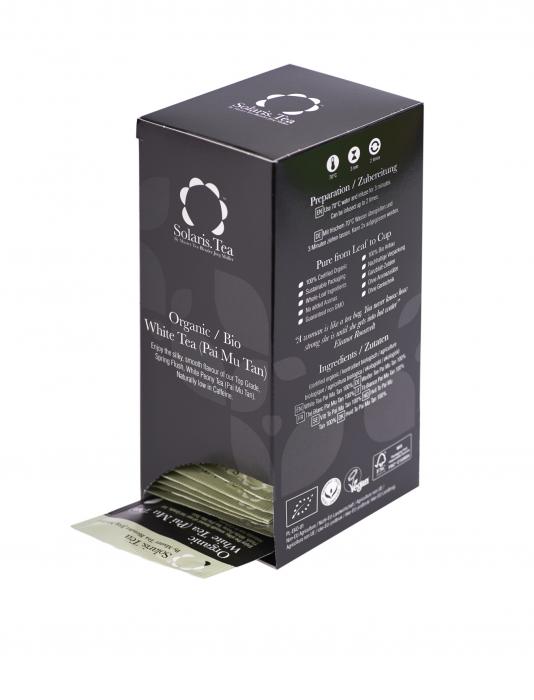 Ceai Organic Alb 40 plicuri 3