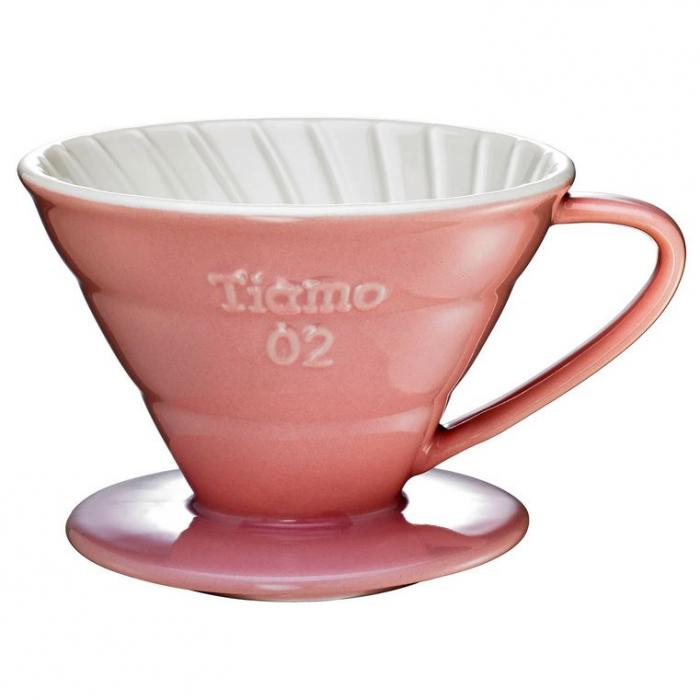 Dripper Ceramic Tiamo V02 - Roz [0]