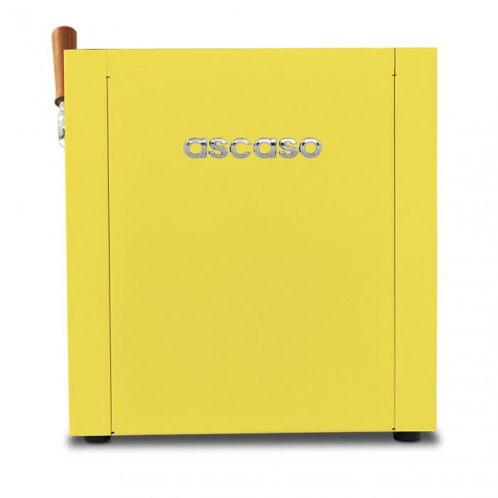 Espressor Ascaso Baby T ZERO Galben - 1 grup 3