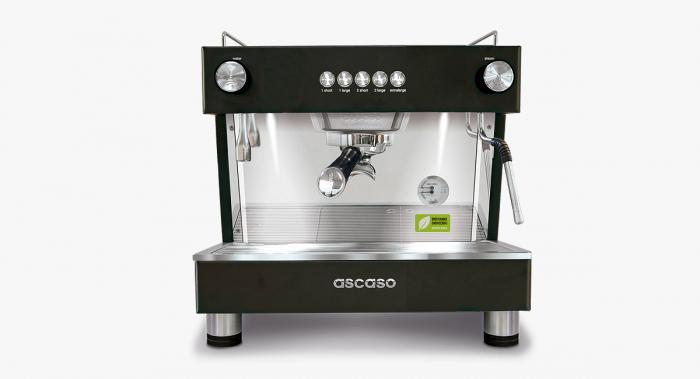 Espressor Ascaso Barista T Zero Negru - 1 grup 0