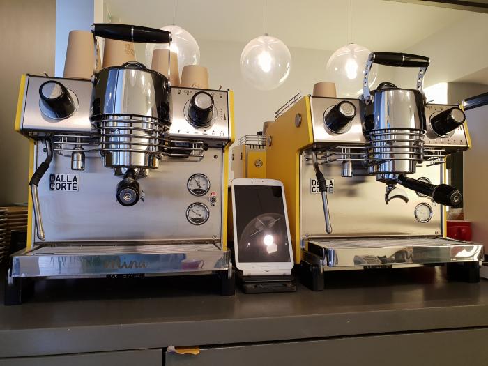 Espressor Dalla Corte MINA SH Coffeerama Gloss 2017 4