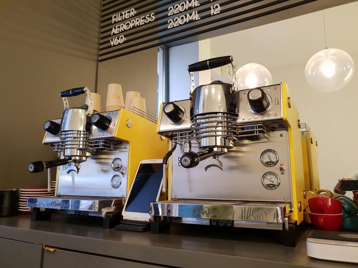 Espressor Dalla Corte MINA SH Yellow 4