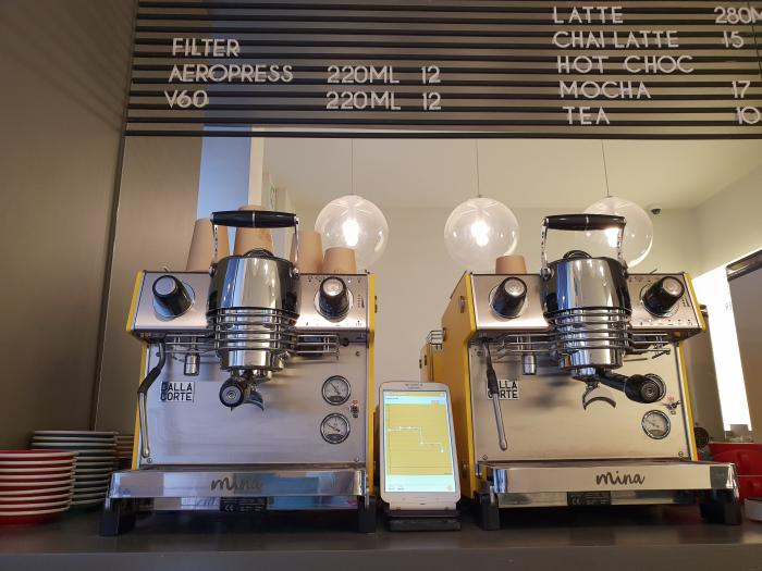Espressor Dalla Corte MINA SH Yellow 6